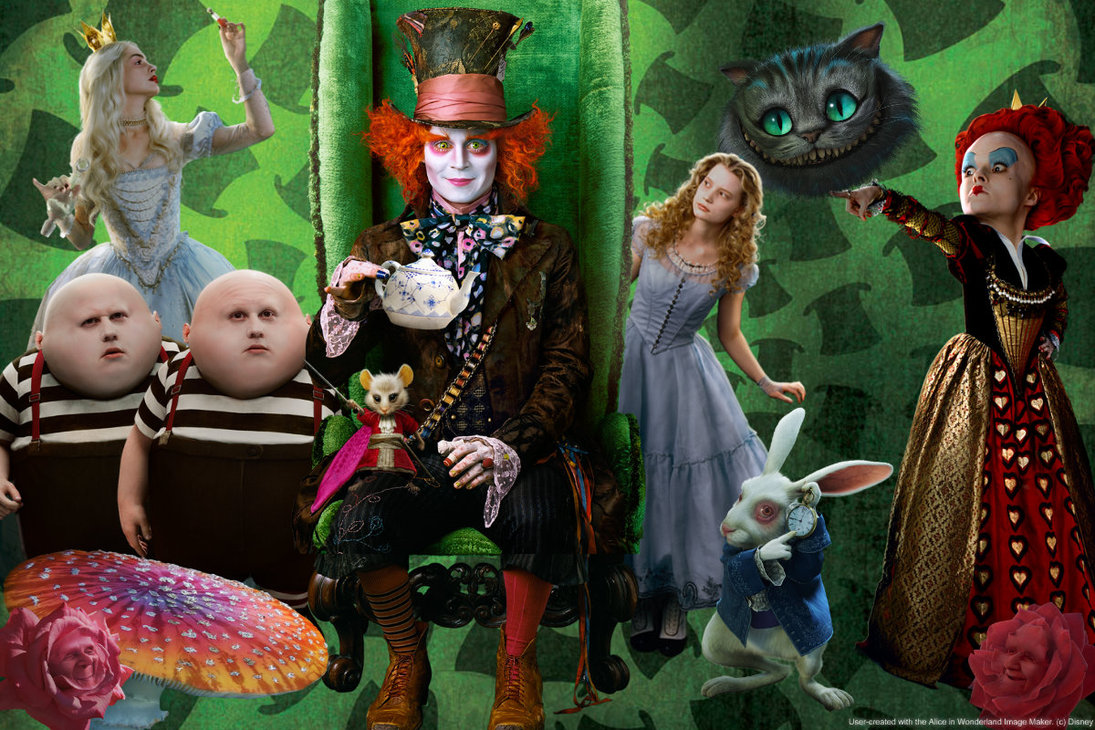mad hatter desktop wallpaper